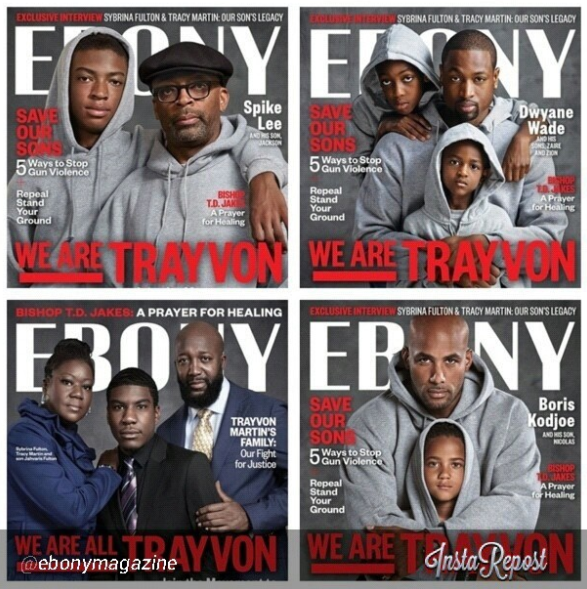 Trayvon Martin by Ebony