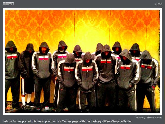 Trayvon Martin Miami Heat