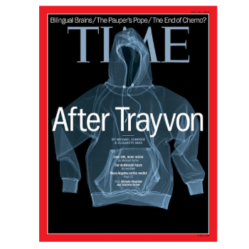 Trayvon Martin Time Cover